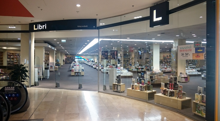 Szeged Árkád Könyvesbolt