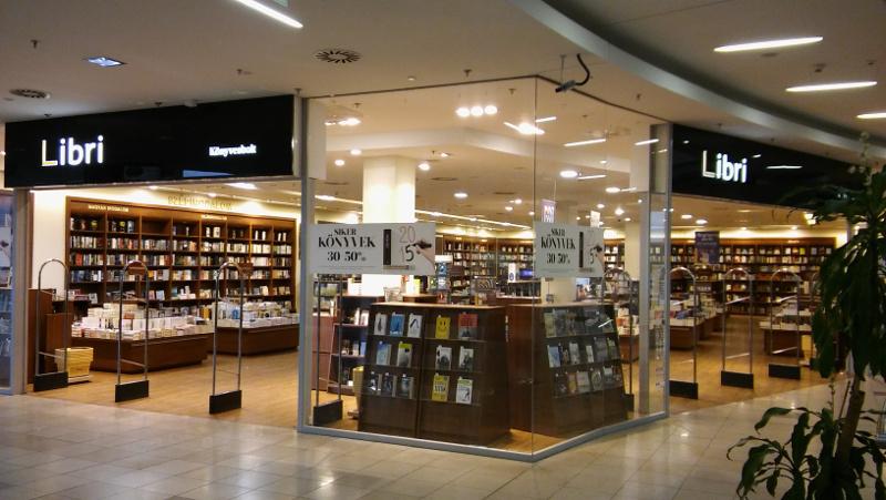 Nyíregyháza Korzó Könyvesbolt